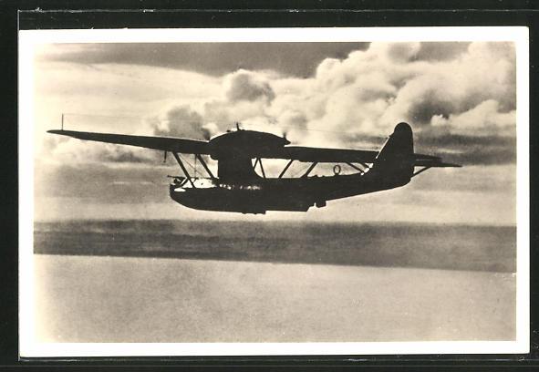 AK Unsere Luftwaffe, Seefernaufklärer-Flugboot Dornier Do-18