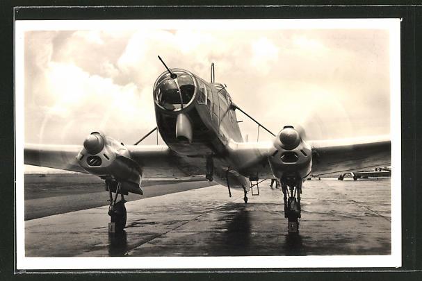 AK Flugzeug Focke-Wulf Fw 58