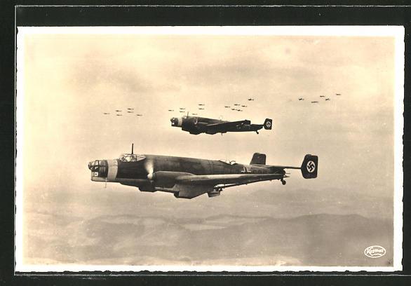 AK Kampfgeschwader Junkers Ju 86