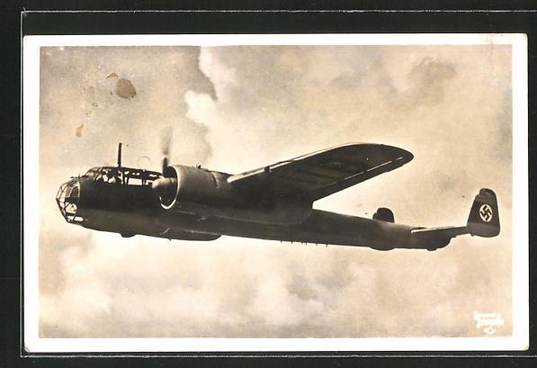 AK Kampfflugzeug Dornier Do 215 im Einsatz