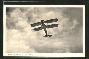 AK Focke-Wulf Schul- und Sportflugzeug Fw 44