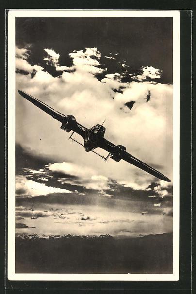 AK Kampfflugzeug Dornier Do 215