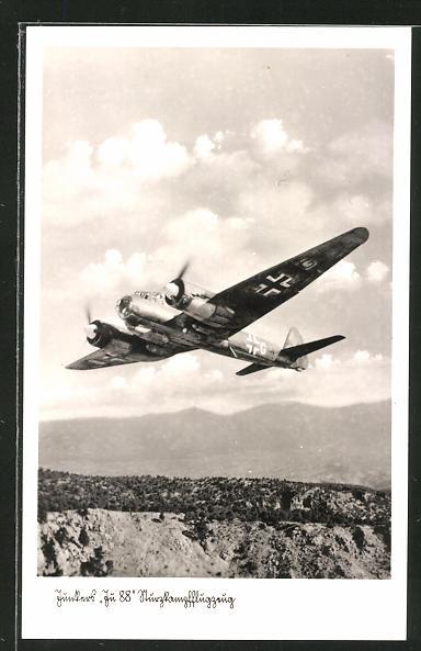 AK Junkers Ju 88 Sturzkampfflugzeug