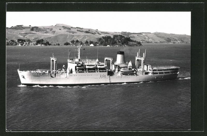 Fotografie Flottenversorgungsschiff RFA Tarbatness A345 der Royal Navy