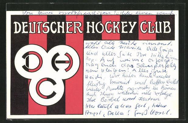 AK Deutscher Hockey Club, Vereinsfarben und Logo