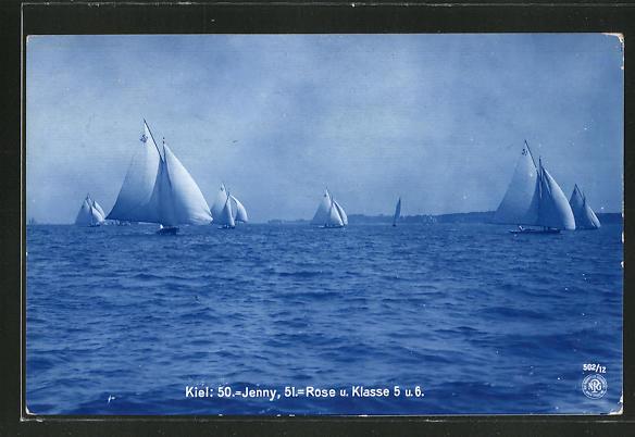 AK Kiel, 50. Jenny, 51. Rose und Klasse 5 und 6, Segelsport