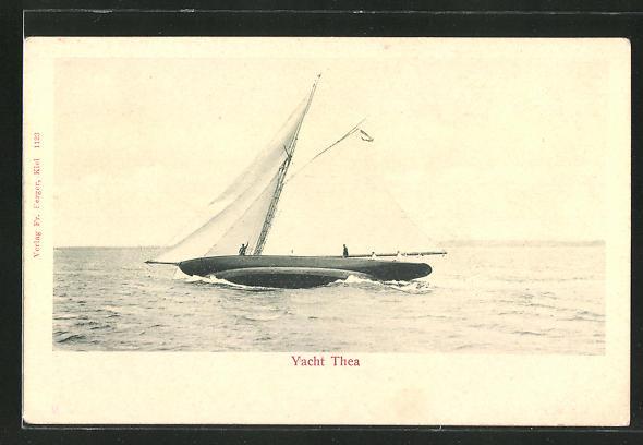 AK Yacht Thea in Fahrt, Segelsport