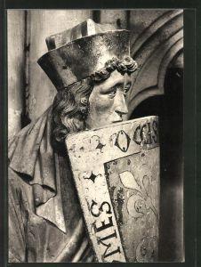 Foto-AK Deutscher Kunstverlag, Nr. 17, Walter Hege: Naumburg, Dom,