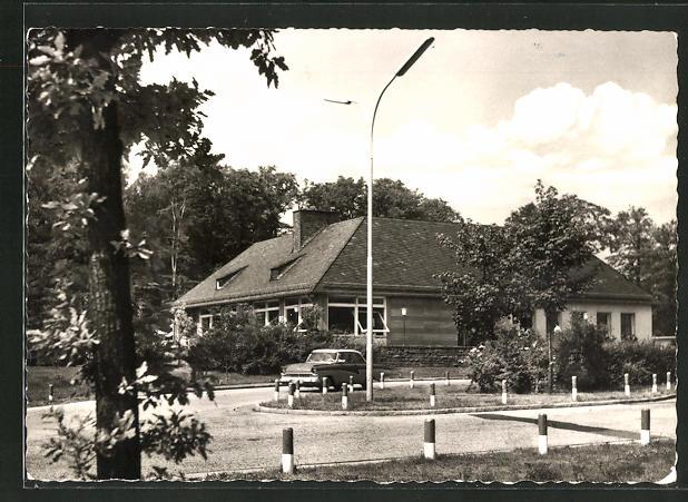 AK Rohrbrunn, Autobahn-Rasthaus im Spessart