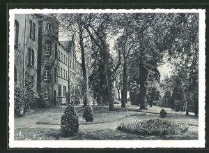 AK Hamb, Kloster St. Bernardin, Parkpartie