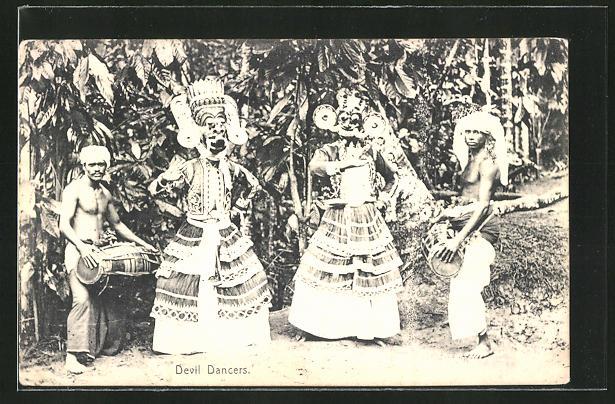 AK Devil Dancers, Volkstanz