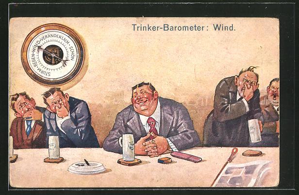 AK Trink-Barometer - Wind, Blähungen