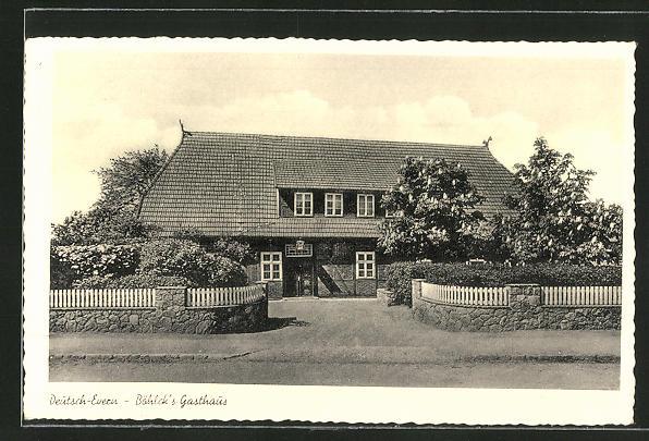 AK Deutsch-Evern, Böhlck's Gasthaus