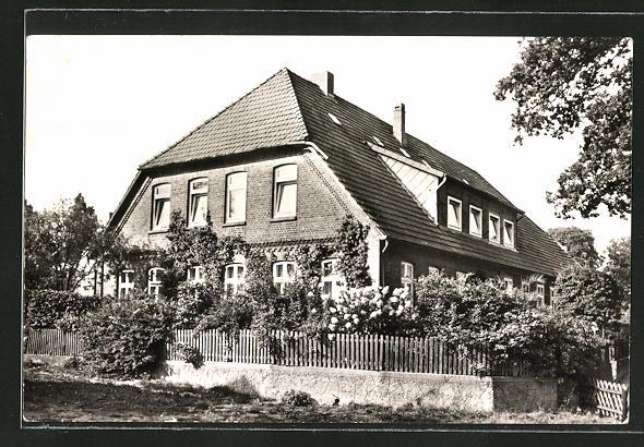 AK Undeloh, Hotel-Pension Heinrich Hartig