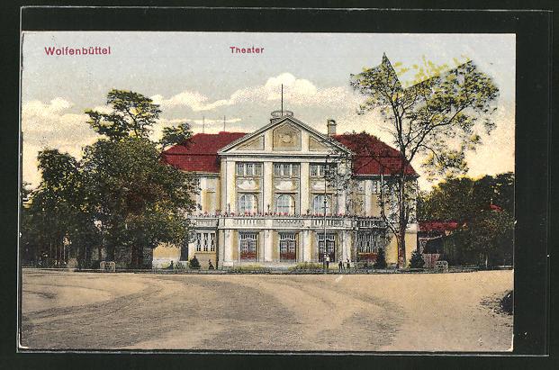 AK Wolfenbüttel, Blick auf das Theater