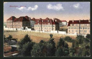 AK Glauchau, Blick auf die Kaserne