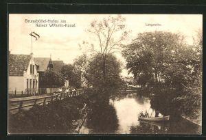 AK Brunsbüttelhafen, Kaiser Wilhelm-Kanal und Langereihe