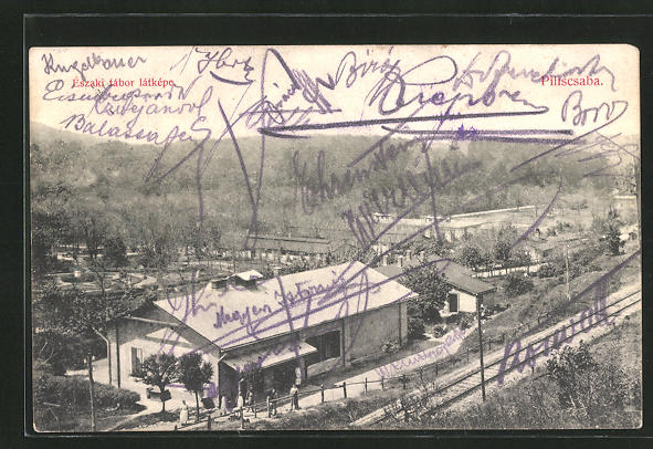 AK Piliscsaba, Északi tábor látképe