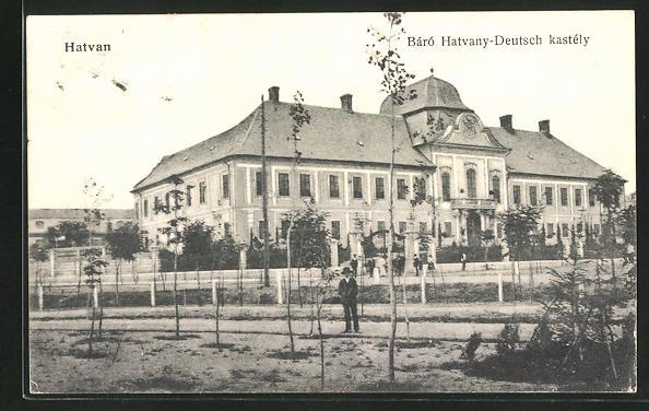 AK Hatvan, Báró Hatvany-Deutsch kastély
