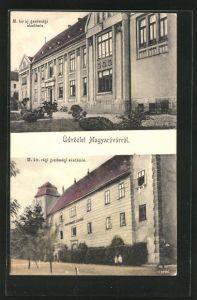 AK Magyaróvárról, M. kir uj gazdasagi akademia, M. kir uj gazdasagi akademia