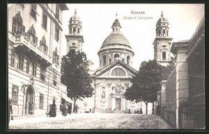 AK Genova, Chiesa di Carignano