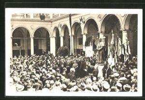 AK Roma, Ospizio del Sacro Cuore di Gesù, Inaugurazione del Monumento del B. Giovanni Bosco
