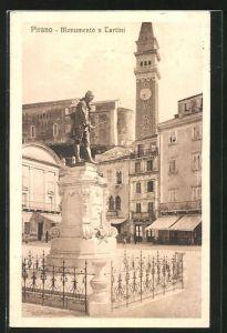 AK Pirano, Monumento a Tartini