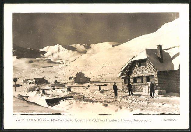 AK Valls d'Andorra, Frontera Franco-Andorra, Pas de la Casa