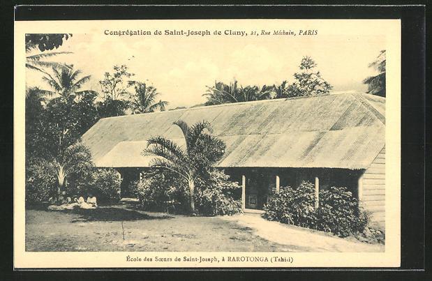 AK Rarotonga, ècole des soeurs de Saint-Joseph