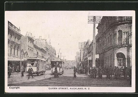 AK Auckland, Tram in Queen Street