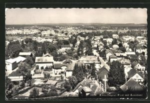 AK Kreuzlingen-West, Panorama mit Konstanz