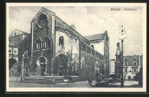 AK Bitonto, Blick zur Kathedrale, Cattedrale