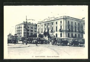 AK Santander, Banco de Espana