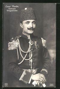 AK Enver Pascha, Kriegsminister der Türkei