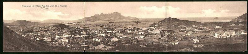 Klapp-AK Cap Verde, Vista geral da cidade Mindelo Ilha de S. Vicente