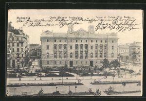AK Budapest, Palais der Österr.-Ung. Bank