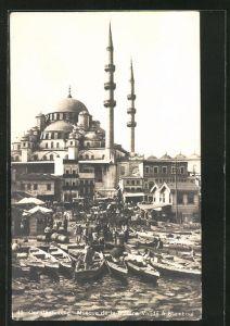 AK Constantinople, Mosque de la Sultane Validé à Stamboul
