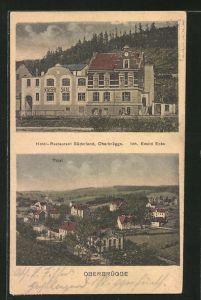 AK Oberbrügge, Hotel-Restaurant Süderland von Ewald Ecks