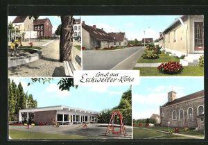 AK Eschweiler-Röhe, verschiedene Ansichten aus dem Ort