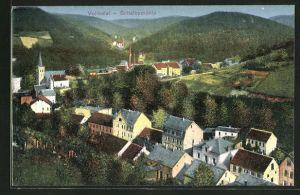 AK Schalksmühle, Ansicht des Ortes im Volmetal