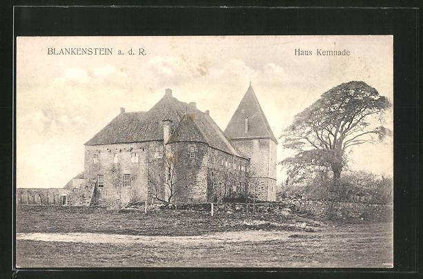 AK Blankenstein a. d. R., Blick auf das Haus Kemnade 0