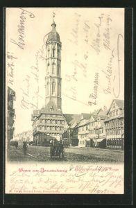 AK Braunschweig, Andreaskirche und alte Waage