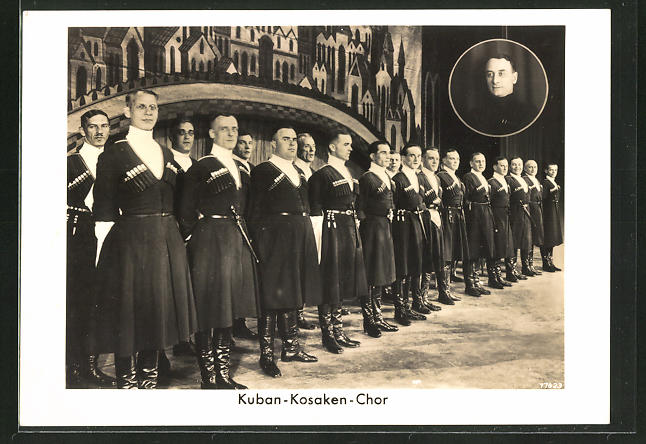 AK Kuban-Kosaken-Chor auf der Bühne