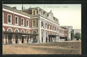 AK Madrid, Estación del Norte, Motiv vom Nord-Bahnhof