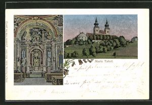 Luna-AK Maria Taferl, Kirche, Altar
