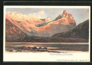 Künstler-AK Themistokles von Eckenbrecher: Romsdalshorn, Landschaftspanorama