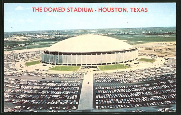 AK Houston, TX, The Domed Stadium