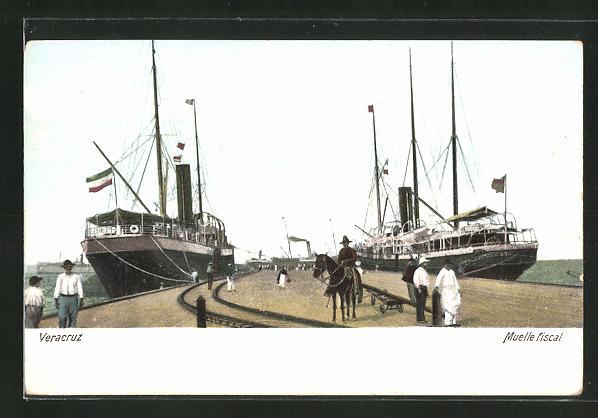 AK Veracruz, Muelle fiscal
