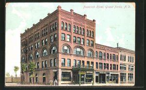 AK Grand Forks, ND, Frederick Hotel