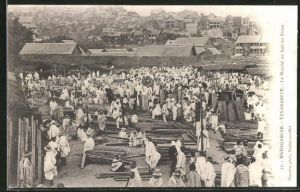 AK Tananarive, Le Marche au bois au Zoma